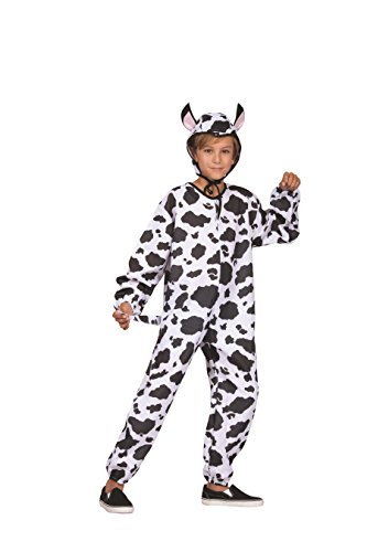 Child Small 4-6 for 4-6 Yrs - Child ECONOMY Cow Costume (Cow Costume For Kids)