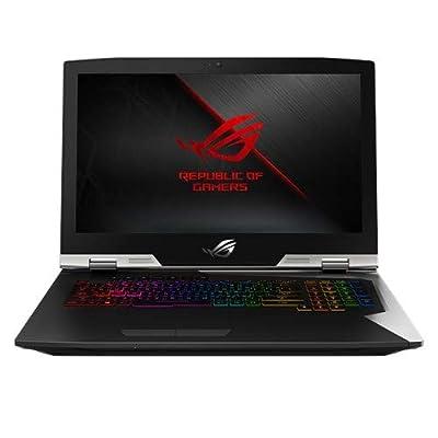 "Image of Computers & Tablets ROG G703GX Desktop Replacement Gaming Laptop, GeForce RTX 2080, 17.3"" FHD 144Hz G-SYNC, Intel Core i9-8950HK Processor, 32GB DDR4, 1.5TB PCIe SSD (RAID 0), Per-Key RGB, Windows 10 Pro - G703GX-XS98K"