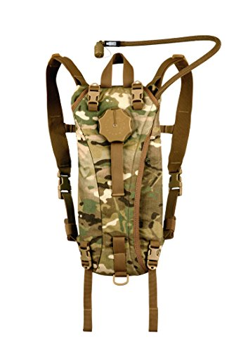 Source Tactical Advance Mobility 3-Liter Hydration System Pack, 3 Usage Modes (Multicam)