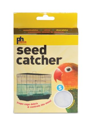 Prevue Pet Products BPV822 Seed Guard Nylon Mesh Bird Seed Catcher, 13-Inch, Green, My Pet Supplies