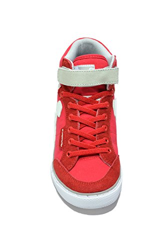 Shoes DrunknMunky Classic Red Blue Tennis Boston Girls' qO1wIOH