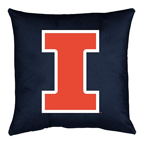 NCAA Illinois Fighting Illini Locker Room Pillow