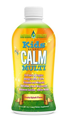 Natural Vitality Kids Calm Multivitamin – 30 oz (Pack of 3)