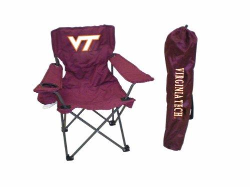 Rivalry NCAA Virginia Tech Hokies Youth Folding Chair With Carrying Case