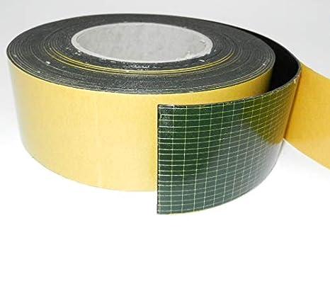 4,50 m x 20 x 1 mm perfil de goma autoadhesiva Goma maciza EPDM de 1 mm de grosor color negro banda de goma dura