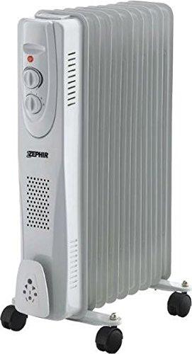 Zephir zra1417 Radiador de aceite, blanco/gris