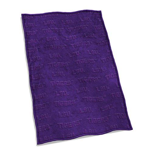 Lsu Plush (Logo Brands NCAA LSU Tigers Velvet Plush Throw Blanket)
