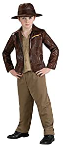 Indiana Jones Child's Deluxe Indiana Jones Costume, Large