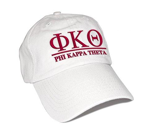 (Phi Kappa Theta World Famous Line Hat White)