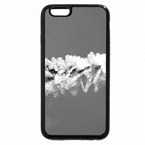 iPhone 6S Plus Case, iPhone 6 Plus Case (Black & White) - winter