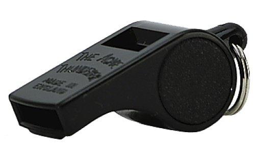 c Thunderer Small Size High Pitch Whistle, Black (1 Dozen) ()