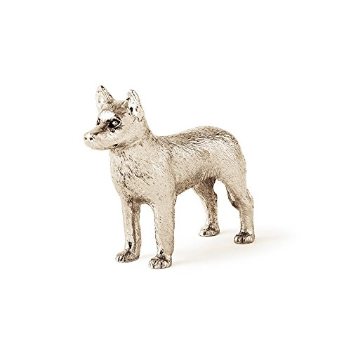 Siberian Figurine Husky Dog (Siberian Husky Made in UK Artistic Style Dog Figurine Collection)