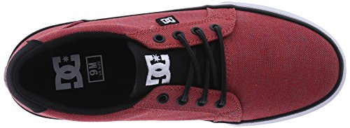 DC Hombre Seguridad Tx Se Skateboarding Zapatos Red/Heather