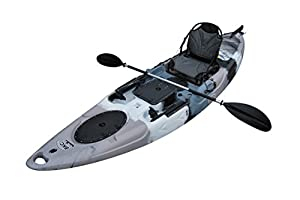 12. Brooklyn Kayak Company UH-RA220 Sit-On-Top Kayak (Grey Camo)