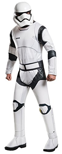 Rubie's Men's Star Wars 7 The Force Awakens Deluxe Villain Trooper White Costume, Multicolor, Extra-Large