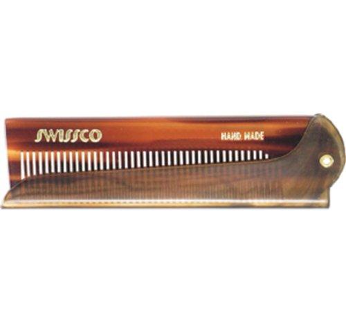Swissco Tortoise Folding Comb (Foldable Comb)