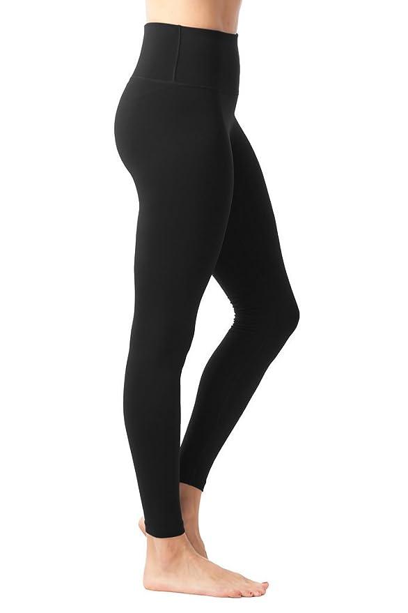 9993c4acf8 Amazon.com: 90 Degree By Reflex High Waist Power Flex Tummy Control Leggings:  Clothing
