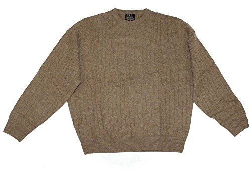 Jos. A. Banks Pullover Sweater Classic Collection (Medium, Taupe) from Jos. A. Banks