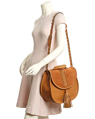 Brown Saddle Red Leather Valentino Bag xqTw6HRI
