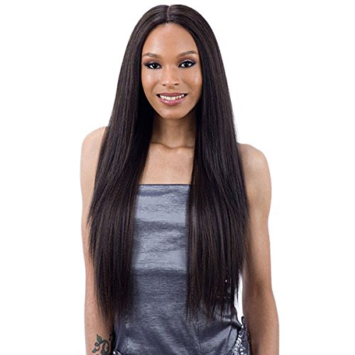 Freetress Equal 5 Inch Lace Part Wig [VALENCIA] (2) (Way Flat Milky)