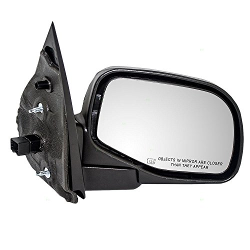 (Passengers Power Side View Mirror Heated Puddle Lamp Textured Replacement for Ford Mercury SUV 1L2Z17682CAA)