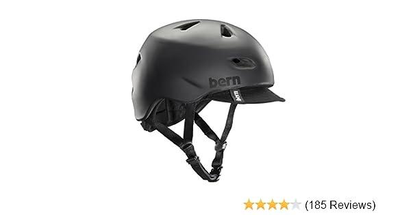 ff8d396259a5 Amazon.com   Bern Brentwood Summer Matte Helmet with Visor
