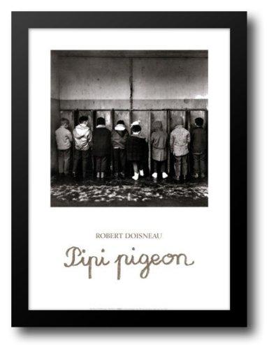 Robert Doisneau - Pipi Pigeon Framed Art Print