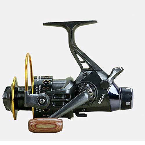 Sea Fishing Reels 5.2:1 10 + 1 BB Drag Rotating Reel 3000 4000 5000 6000 Fishing Reel Double Unloading Metal Head Front and Rear Brake Reel