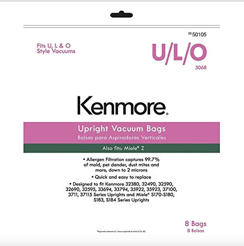 kenmore o type hepa bags - 6