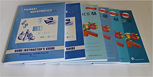 Complete Kit: Singapore Primary Mathematics 4 (4A Textbook, 4A ...