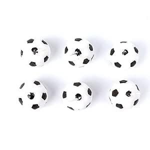 rryilong - Juego de 6 Velas de fútbol para la decoración de ...