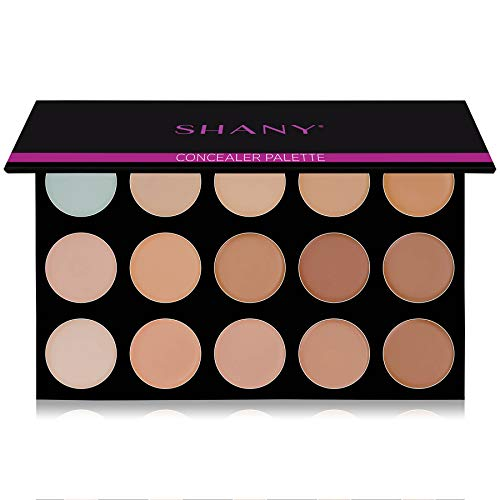 SHANY Masterpiece 15 Color Foundation, Concealer, Camouflage Palette/Refill -