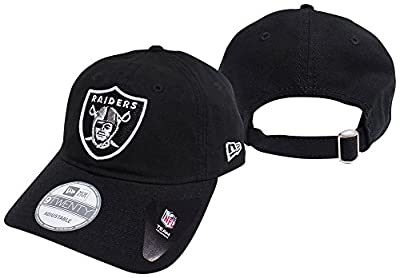 Oakland Raiders Black Core Shore 9TWENTY Adjustable Hat / Cap from New Era