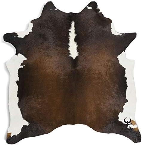 Brown Rodeo Cowhide Rug