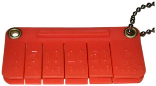 The Braille Store Pocket Money Brailler by The Braille Store