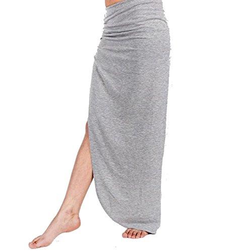 Get The Trend - Falda - para mujer gris claro