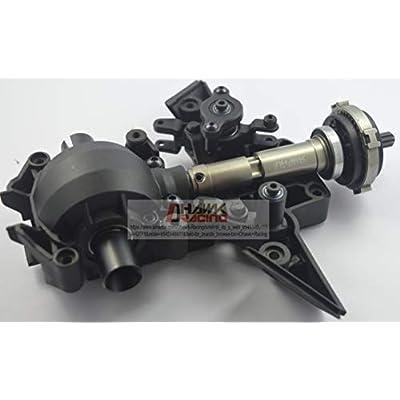 Dhawk Racing CNC Aluminum Center Front Driveshaft for Traxxas Unlimited Desert Racer UDR: Toys & Games