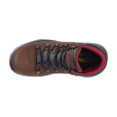 Avenger Shoe Comp WP SR Brown Men's Leather Hiker PR Toe A7221 EH nXrxXpvqOw