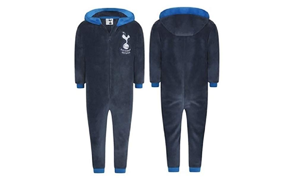 Adults Ladies Mens Football THFC Tottenham Hotspurs Fleece Onesie All in One - Small - X-Large WH31025