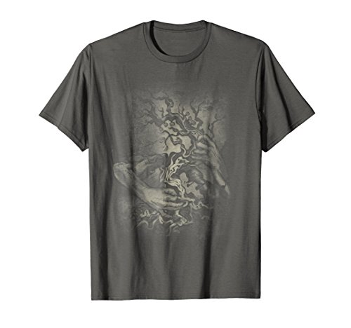 ock and roll - heavy metal - music - T-shirt XL Asphalt (Guitar Tree)