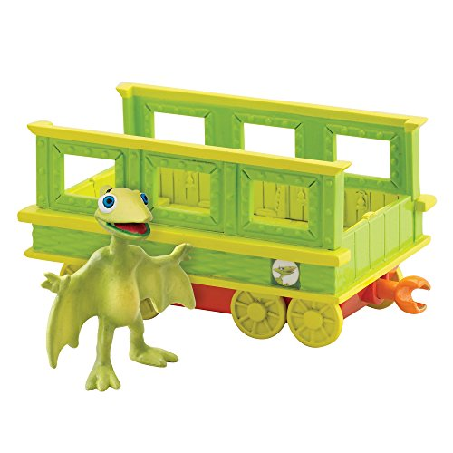 Dinosaur Train - Collectible Tiny With Train - Train Collectible Car