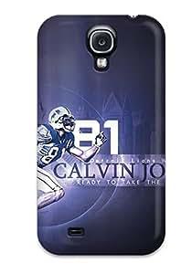 Galaxy S4 Hard Back With Bumper Silicone Gel Tpu Case Cover Calvin Johnson