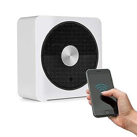 KLARSTEIN HeatPal Bloxx Calefacción eléctrica - Estufa, 2500 W, Control vía App por módulo WiFi, Temporizador, Apagado, Control de Temperatura, ...