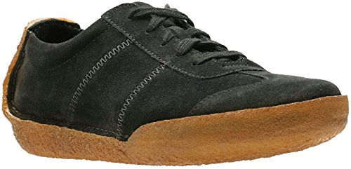 Clarks Hommes Miligan Sneakers Noir Sde