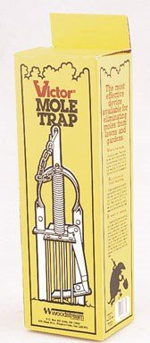 Victor Plunger Mole Trap (Woodstream #0645) - Pack of 3 by Vicotr
