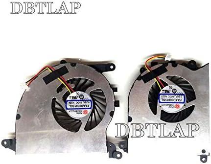 DBTLAP Nuevo Ventilador para MSI GS40 6QD GS40 6QE MS-14A1 MS-14A2 ...