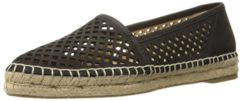 Frye Womens Lee A Line Perf Mocassino Nero