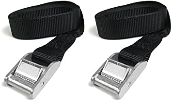 Lashing Roof Rack 25mm Cam Buckle strap 1mtr Tie Down Luggage Bouncy Castle