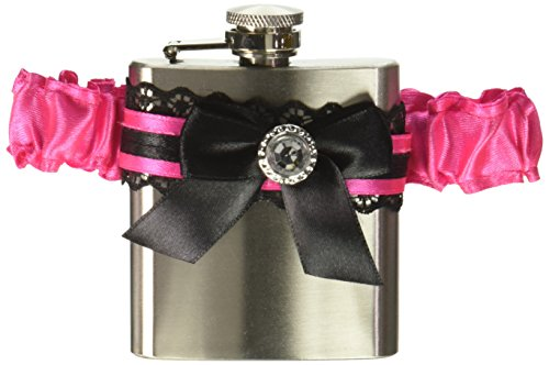 Gangster Garter Flask - amscan Sassy Bride Garter with
