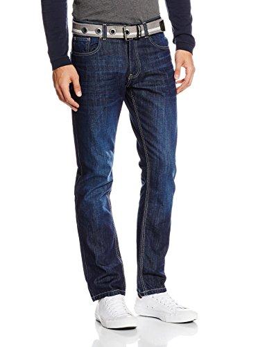 Skinny darkwash Bleu Homme Jean Enzo 5RC6wXqxT